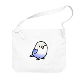 Chubby Bird ボタンインコ Big shoulder bags