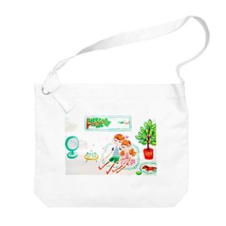 ハッピー♡タイム(B)🧡CoCo&TaTa Big shoulder bags
