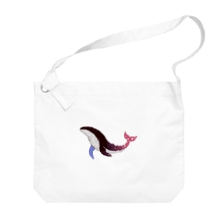 asuのwhale  waltz Big shoulder bags
