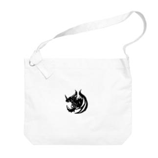 カゲ ト イキル Big shoulder bags