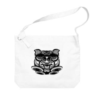 BLACKDESIGN_OGAWAの文太02 Big shoulder bags