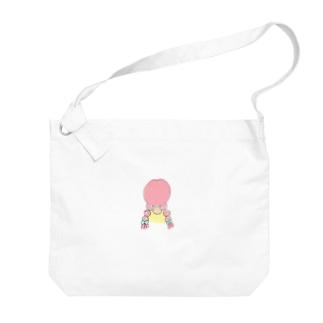 Summer girl Big shoulder bags