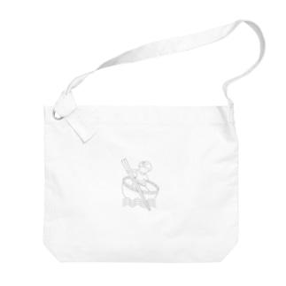 Studio512 ラーメン法師 Big shoulder bags