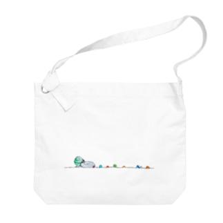金平糖ちゃん おおつぶ Big shoulder bags