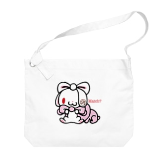 CHAX COLONY imaginariの【各20点限定】汎用うさぎ(#2) Big shoulder bags