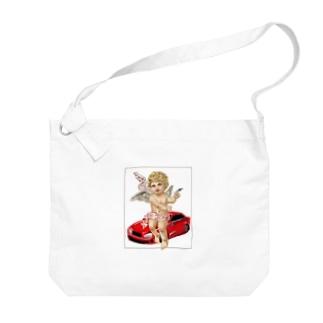 チャラ天使くん Big shoulder bags