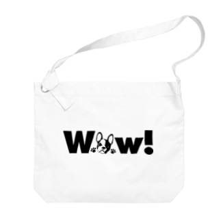 Wow!フレブル! Big shoulder bags