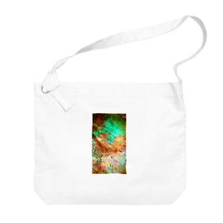 木漏れ日 Big shoulder bags