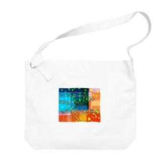 雨音 四季 Big shoulder bags