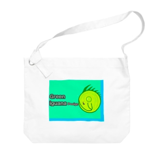 イグアナデザイン Big shoulder bags