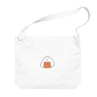 Orange rice ball boy Big shoulder bags