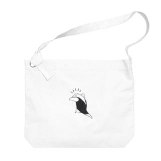 ととめめ/ totomemeの威嚇するミナミコアリクイ Big shoulder bags
