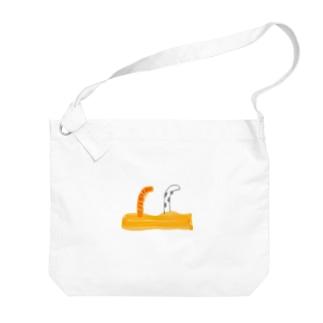 チンアナゴ Big shoulder bags