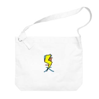 スピリタス商店の晴天☀️霹靂ver Big shoulder bags