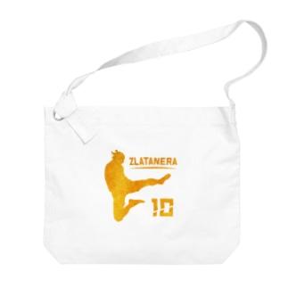 ZURATANERA スウェーデンのサッカーの神様偶像  Big shoulder bags