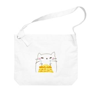 ネココ Big shoulder bags