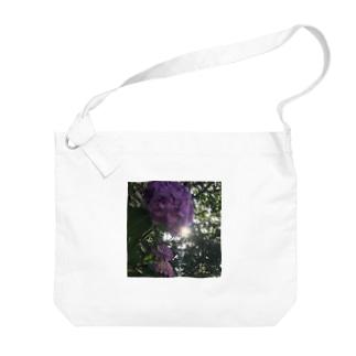紫陽花  Big shoulder bags