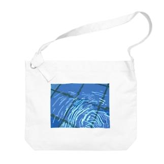 清見里市営水泳場 Big shoulder bags