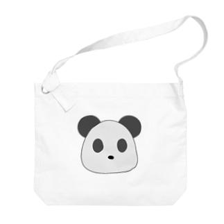 ぱんさん Big shoulder bags