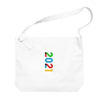 marikiroの2021_西暦 Big shoulder bags