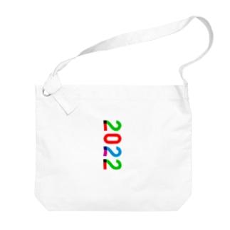marikiroの2022_西暦 Big shoulder bags
