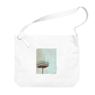 chikage hayashiのflower 1 バック Big shoulder bags