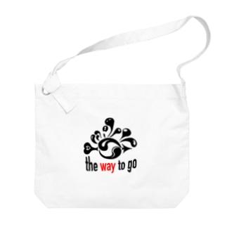 The Way To Go Big shoulder bags