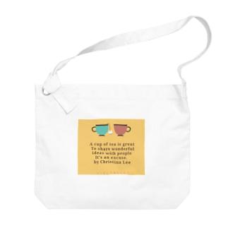 ciel♡bule♡ Big shoulder bags