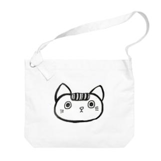 カールおじいちゃんの飼い猫 Big shoulder bags