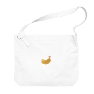 🍤('-'  🍤)エビ Big shoulder bags