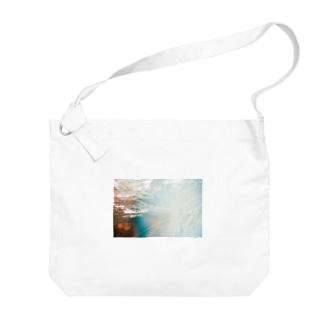 泡沫 Big shoulder bags
