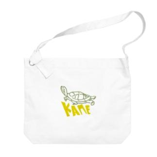 KAME Big shoulder bags