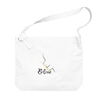 Eライン Big shoulder bags