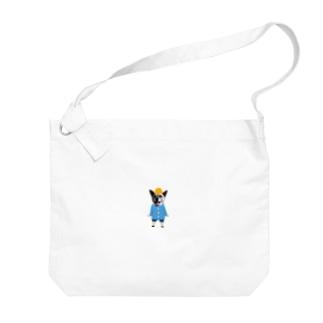 いちごちゃん(幼稚園児バージョン) Big shoulder bags