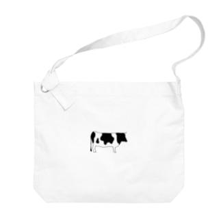 SIMPLEシリーズ ウシ  Big shoulder bags