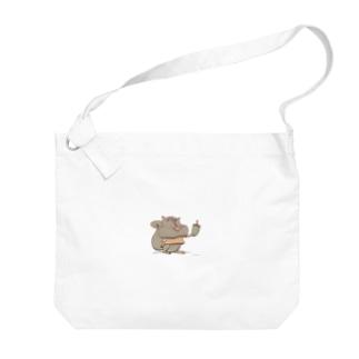 キャラクタークリエーションのリス Big shoulder bags