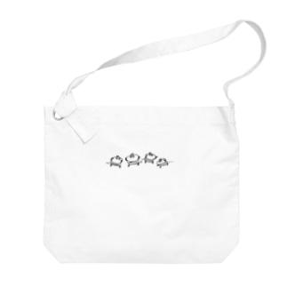 おにここ(偽)【明るい生地用】 Big shoulder bags