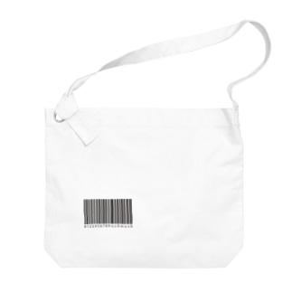 usomusoのBARCODE Big shoulder bags
