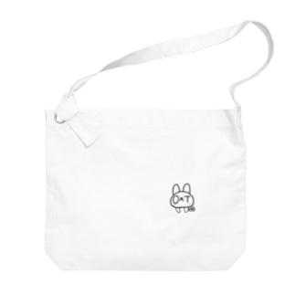 オクトうさぎ Big shoulder bags
