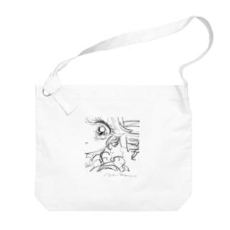 Croquis series no.01 Big shoulder bags