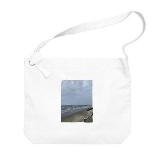 並波🌊 Big shoulder bags