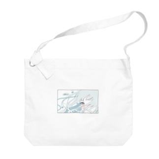 サマーガール Big shoulder bags