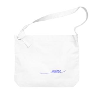 ペア(BRIDE)青い糸 Big Shoulder Bag