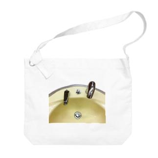 洗面台  〜センサー編〜 Big shoulder bags