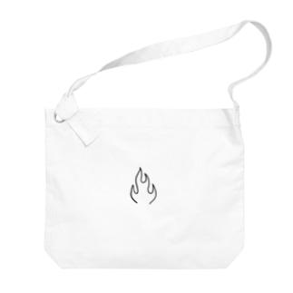 FLAME  Big shoulder bags