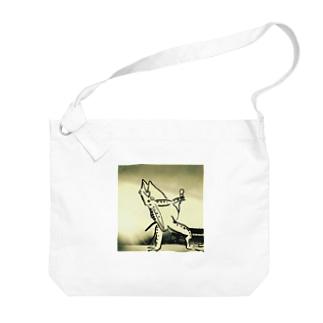 ボヘミアン鳥獣 Big shoulder bags