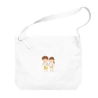 Soragasukiのカップル Big shoulder bags