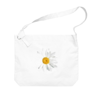 daisy flower Big shoulder bags