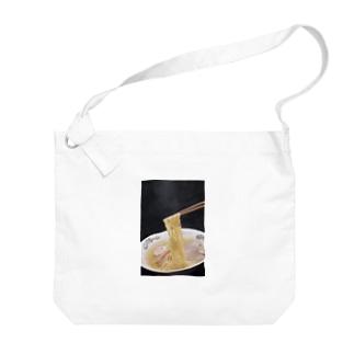 塩ラーメン Big shoulder bags