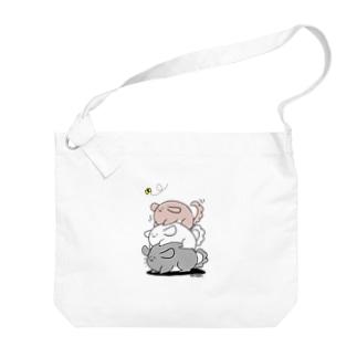 積みチラ(ゆるチラ) Big shoulder bags